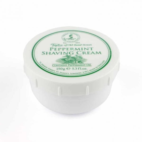Taylor of Old Bond Street Pepermint scheer creme 150gr