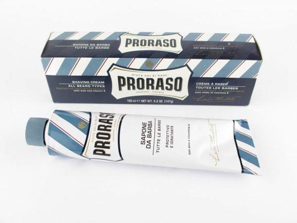 Proraso Scheercrème blauw 150ml