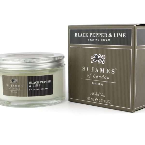 Black Peper and Lime