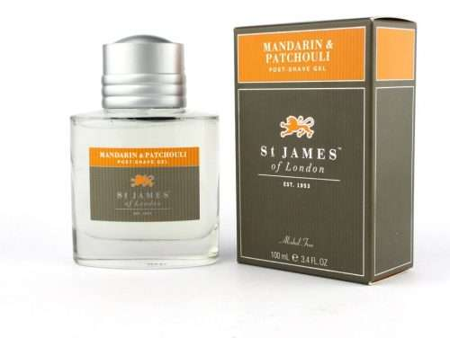 st James of London Mandarin & Patchouli Post shave gel