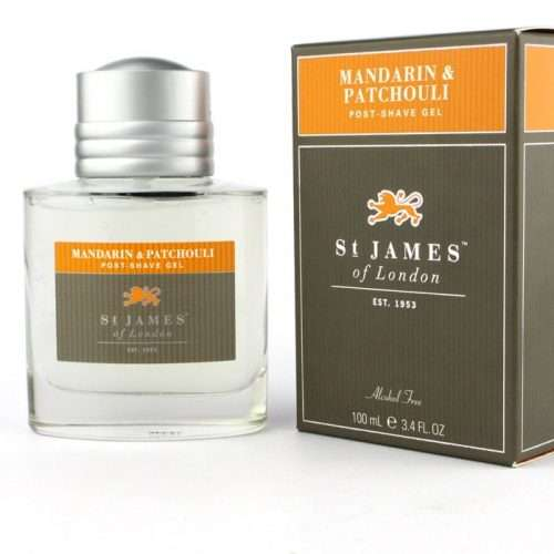 st James of London Mandarin & Patchouli Post shave gel