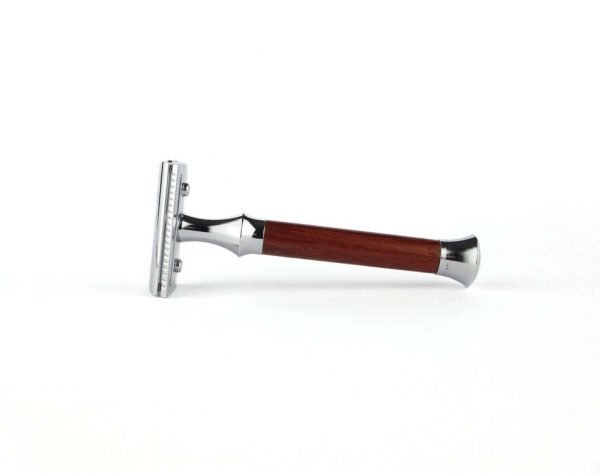 Giesen & Forsthoff safety razor 1363 padouk hout