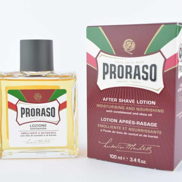 Proraso aftershave lotion Rood