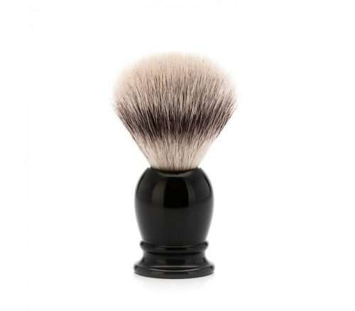 muehle scheerkwast silvertip fibre zwart
