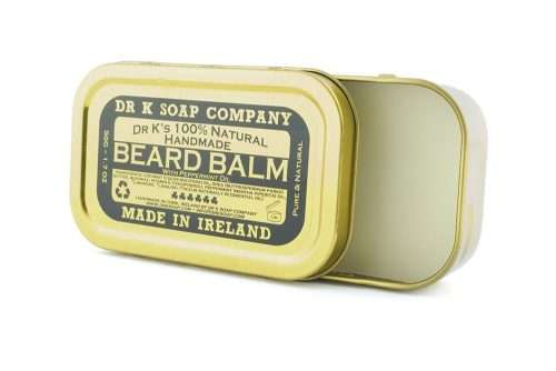 DR K Beard balm pepermint open DR K soap company Beardbalm 50ml