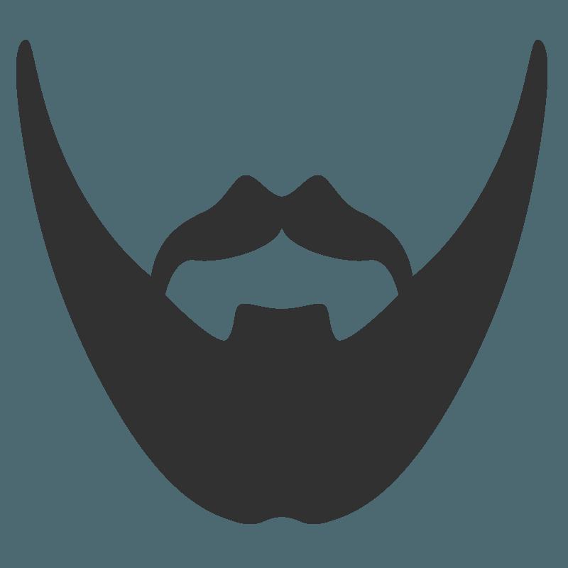Baard silhouette