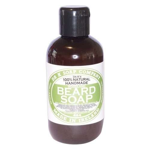 DR K canvas en product DR K Beard soap shampoo