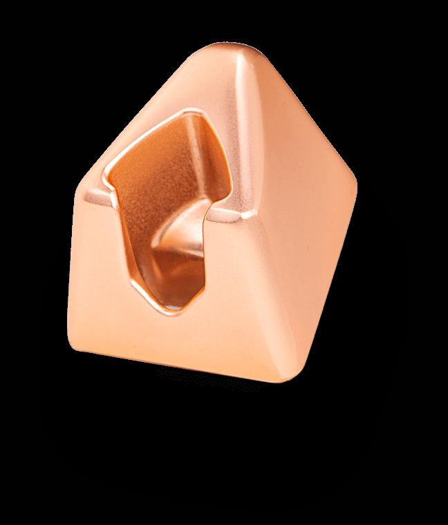 Standaard Rose Gold Leaf Shave