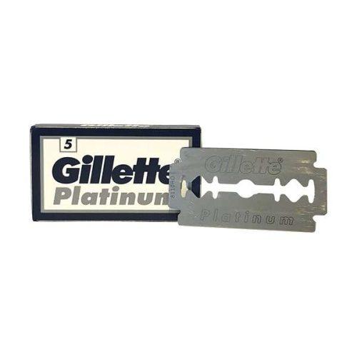 Gillette platinum double edge