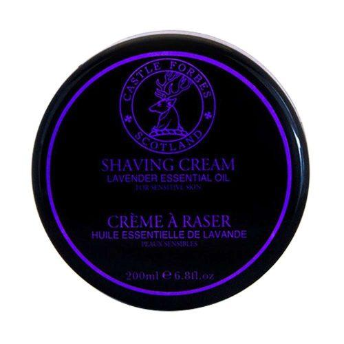 Castle Forbes Lavender shaving cream1-min