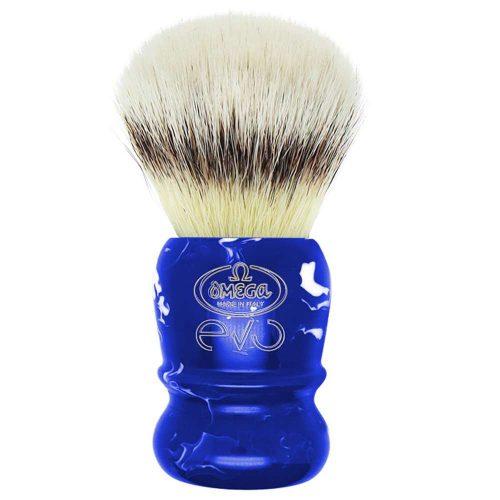 Omega-Evo-scheerkwast-saphire-blauw