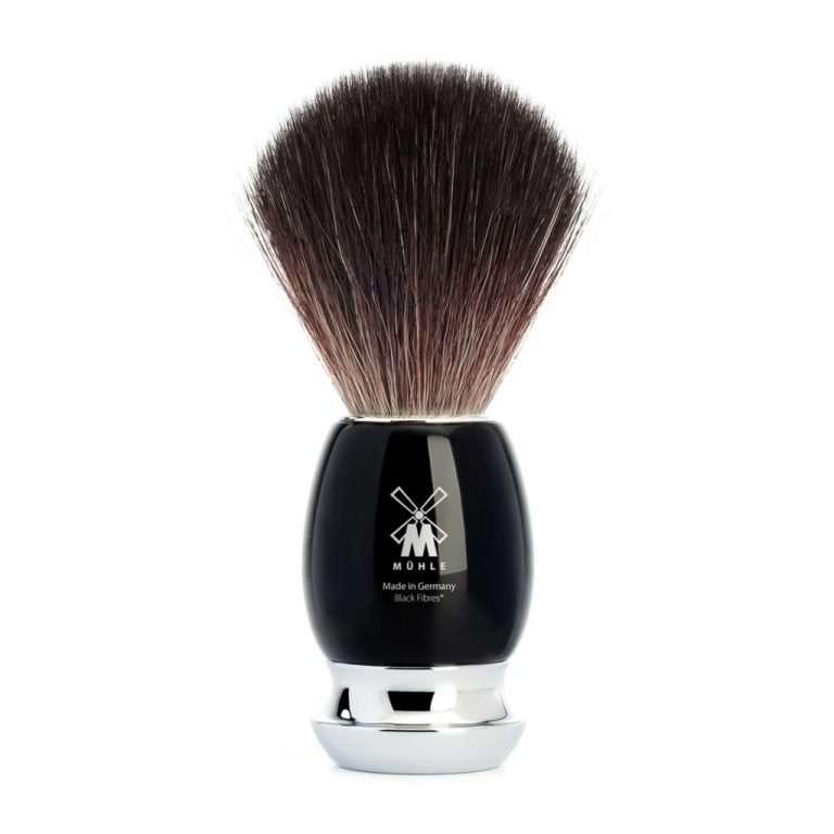 Mühle-scheerkwast-black-fibre-zwart